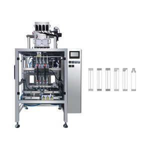 Otomatis Multi Lane Sachet Stick Powder Packing Machine kanggo Kopi, Susu