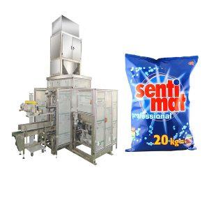 Otomatis Premade Big Bag Packing Mesin Detergent Powder Open-mouth Bagger