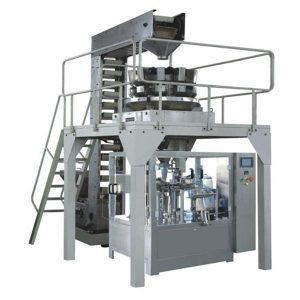 Otomatis Premade Granule Nimbang Ukuran Produksi dan Penyegelan
