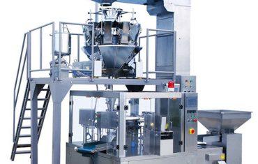 otomatis kopi buncis makanan rotary zipper kantong kemasan mesin