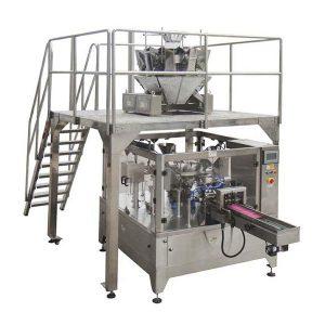 Otomatis Rotary Food Packing Machine kanggo Zipper Bag