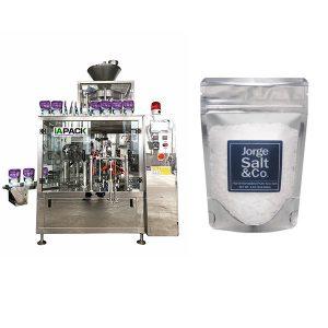 Otomatis Rotary Premade Bag Packing Machine kanggo Garam