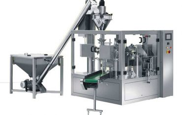 bubuk rotary spice otomatis ngisi mesin pengepakan