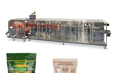 gram bubuk doypack packing horizontal form fill seal machine