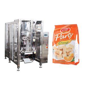 Full Food Food Quad Seal Bag Packing Machine