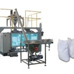 open mouth bag placer, filler & closer (bulk products)