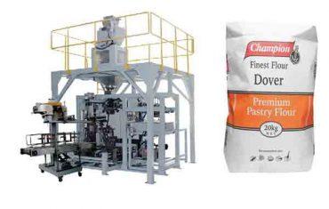 mesin pengemasan otomatis kanggo mesin pembungkus tepung 20kg