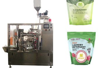mesin cuci rotary premade kantong mesin pengepakan