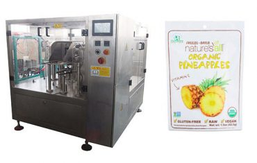 rotary fill and sealing packing machine