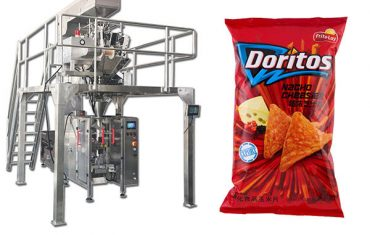 puffed food shrimp packing machine