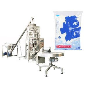 Formulir Vertikal Isi Seal Machine With Volumetric Cup for Salt
