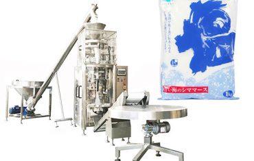 Formulir vertikal uyah ngisi mesin segel kanthi cup volumetrik